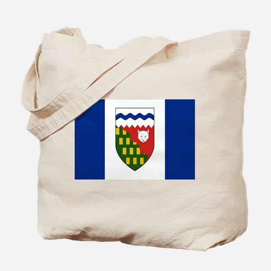 Northwest Territories Flag Tote Bag