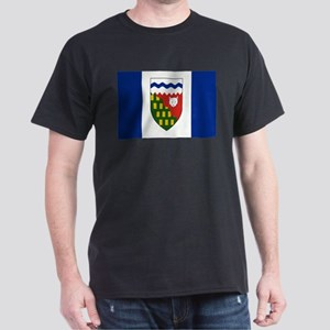 Northwest Territories Flag Dark T-Shirt