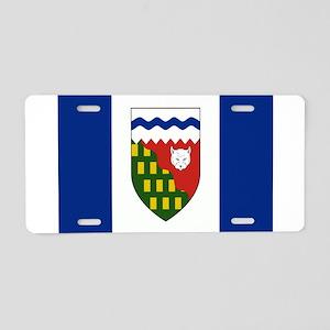 Northwest Territories Flag Aluminum License Plate