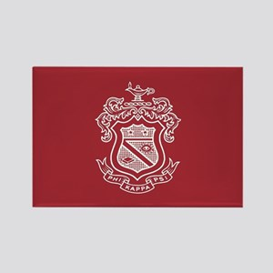 Phi Kappa Psi Fraternity Crest in Rectangle Magnet