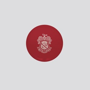 Phi Kappa Psi Fraternity Crest in Whit Mini Button