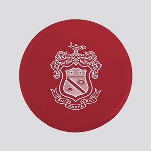 Phi Kappa Psi Fraternity Crest in White wit Button