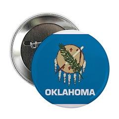 Oklahoma Flag 2.25