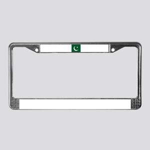 Pakistan Flag License Plate Frame