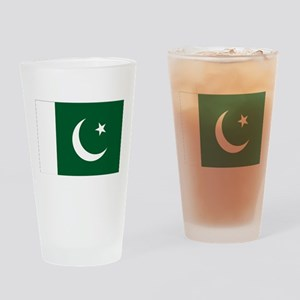 Pakistan Flag Drinking Glass