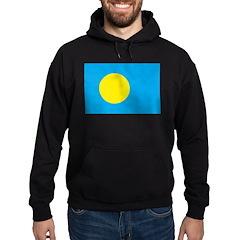Palau Flag Hoodie (dark)
