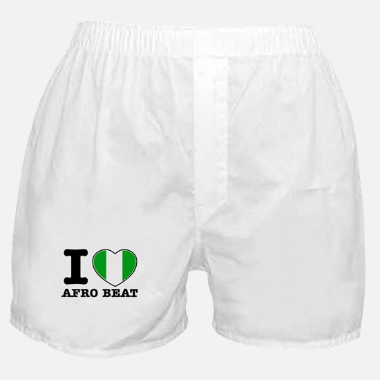 I love Afro Beat Boxer Shorts