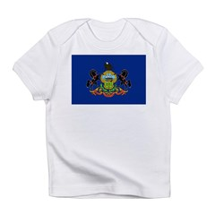 Pennsylvania Flag Infant T-Shirt