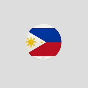 Philippines Flag Mini Button