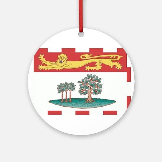 Prince Edward Islands Flag Ornament (Round)