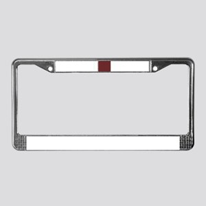 Qatar Flag License Plate Frame