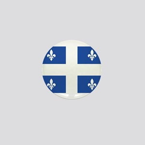 Quebec Flag Mini Button