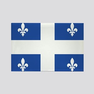 Quebec Flag Rectangle Magnet (10 pack)