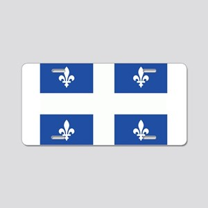 Quebec Flag Aluminum License Plate