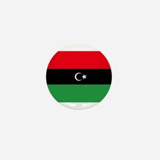 Republic of Libya Flag Mini Button