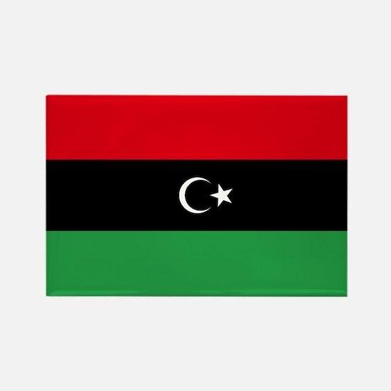 Republic of Libya Flag Rectangle Magnet