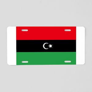 Republic of Libya Flag Aluminum License Plate