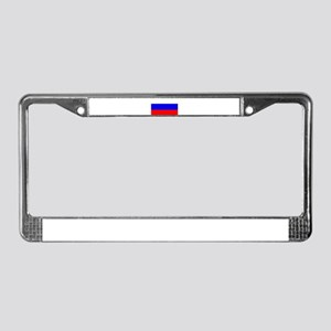 Russia Flag License Plate Frame
