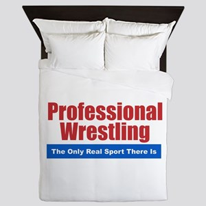 Professional Wrestling Queen Duvet