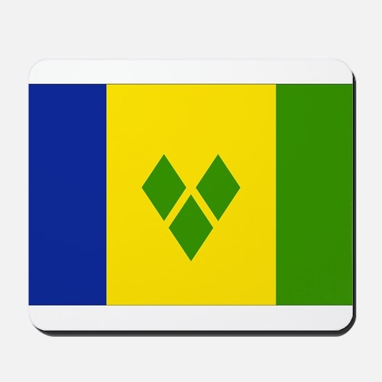 Saint Vincent Flag Mousepad