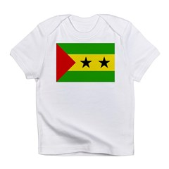 Sao Tome and Principe Flag Infant T-Shirt