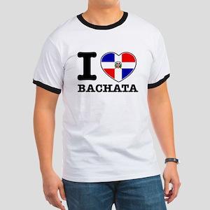I love Bachata Ringer T