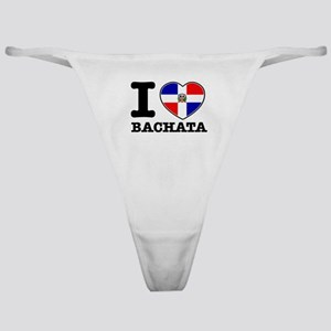 I love Bachata Classic Thong