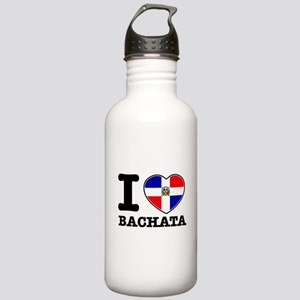 I love Bachata Stainless Water Bottle 1.0L