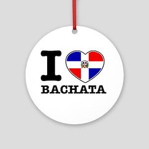 I love Bachata Ornament (Round)