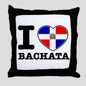 I love Bachata Throw Pillow