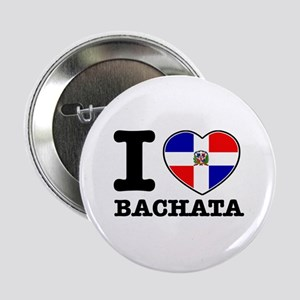 "I love Bachata 2.25"" Button"