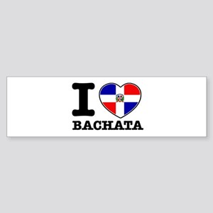 I love Bachata Sticker (Bumper)
