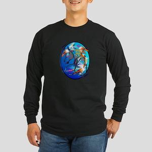 Bright Horse Long Sleeve Dark T-Shirt