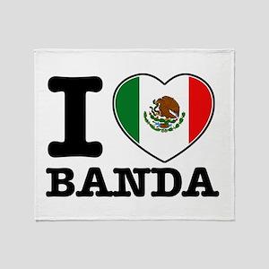 I love Banda Throw Blanket