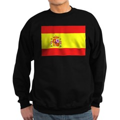 Spain Flag Sweatshirt (dark)