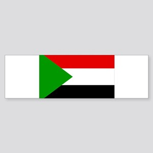 Sudan Flag Sticker (Bumper)