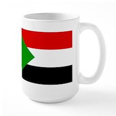Sudan Flag Large Mug