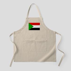 Sudan Flag Apron