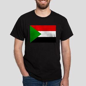 Sudan Flag Dark T-Shirt