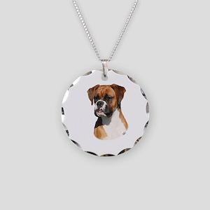 Boxer 9Y554D-123 Necklace Circle Charm