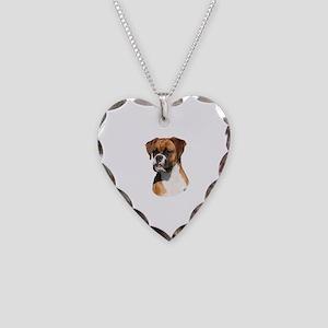 Boxer 9Y554D-123 Necklace Heart Charm