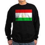 Tajikistan Flag Sweatshirt (dark)