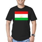 Tajikistan Flag Men's Fitted T-Shirt (dark)