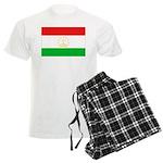Tajikistan Flag Men's Light Pajamas