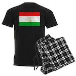 Tajikistan Flag Men's Dark Pajamas