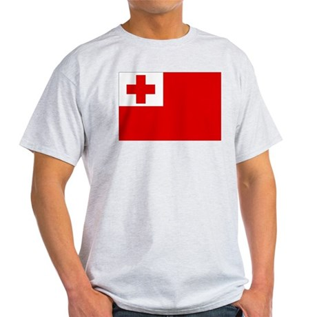 Tonga Flag Light T-Shirt