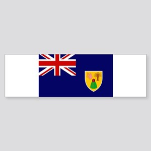 Turks and Caicos Flag Sticker (Bumper)