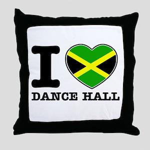 I love Dance Hall Throw Pillow