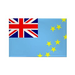 Tuvalu Flag Rectangle Magnet (10 pack)