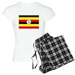 Uganda Flag Women's Light Pajamas